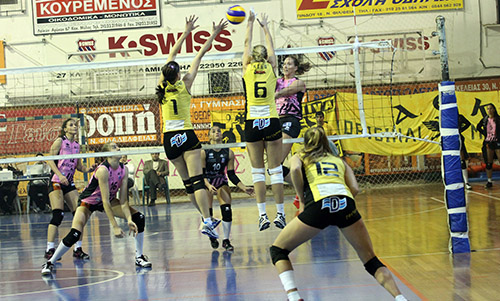 Greek Women's League: AEK and Olympiacos are the finalists