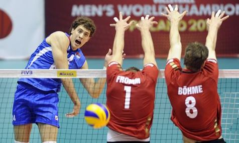 Aleksandar Atanasijevic: This is the volleyball