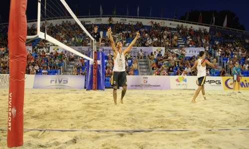 Unexpected winners at the U21 Beach World Championship