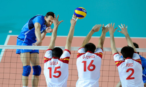 Volleyball at the Mediterranean Games 2013