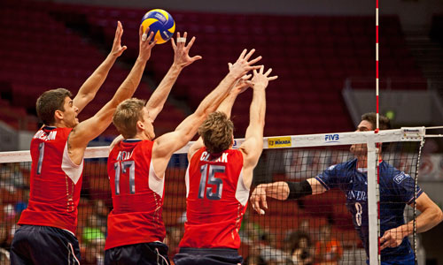 USA – Bulgaria: The volleyball show in Reno starts in 3,2,1