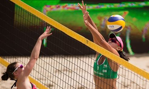FIVB Beach Volleyball World Championships Mazury 2013 started up