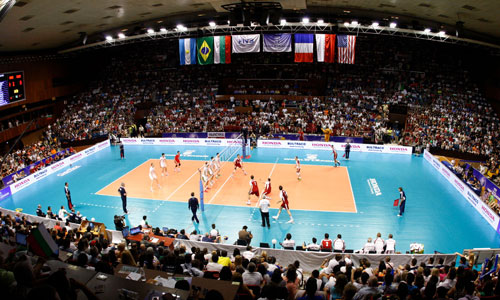 Is there a scandal between Winiarski and the Bulgarian volleyball federation?
