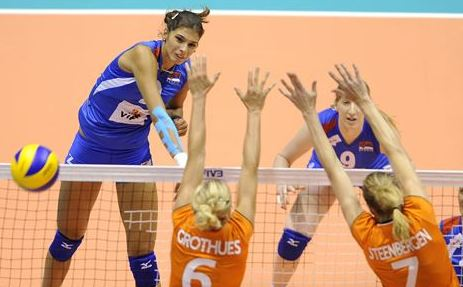 "WGP: Volleyball ""Cinderella"" suppressed by USA, 'Oranje' by Serbia"