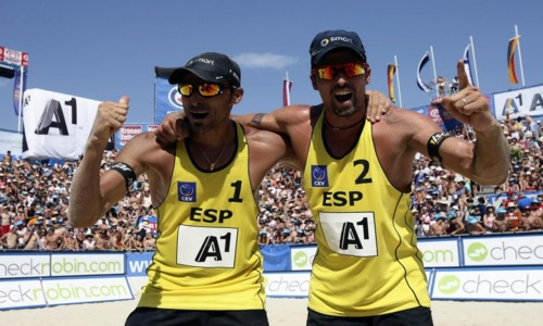 "The Beach Volley ""Mecca"" brought a second European gold for Spain"