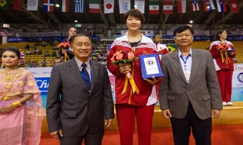 U-18 Girls' WCH: Xinyue Yuan MVP