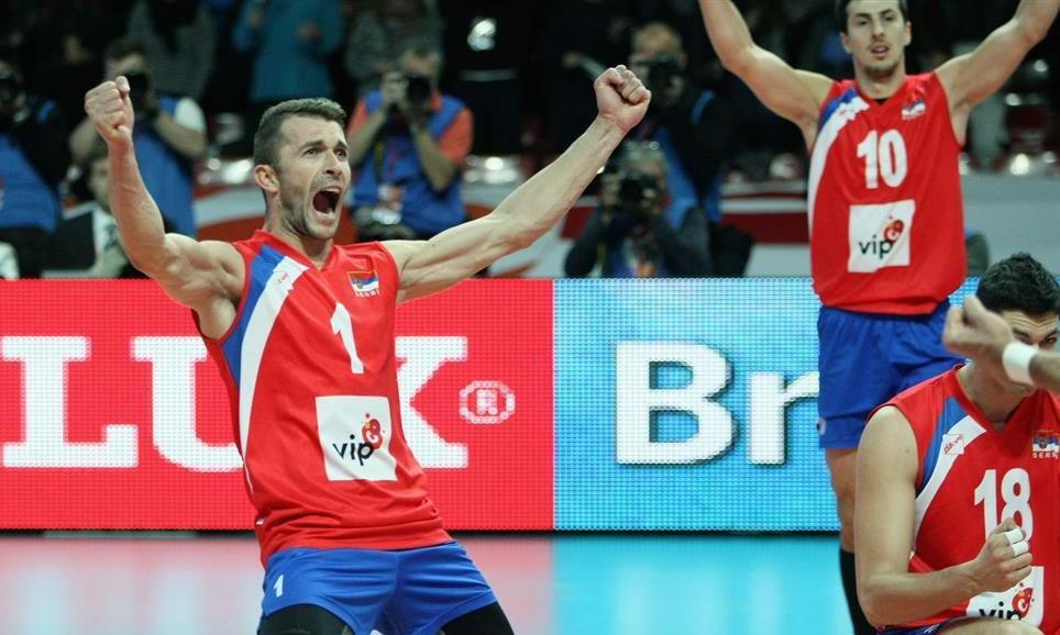 EuroVolley: Atanasijevic dwarfed Sokolov! Serbia remains on the podium!