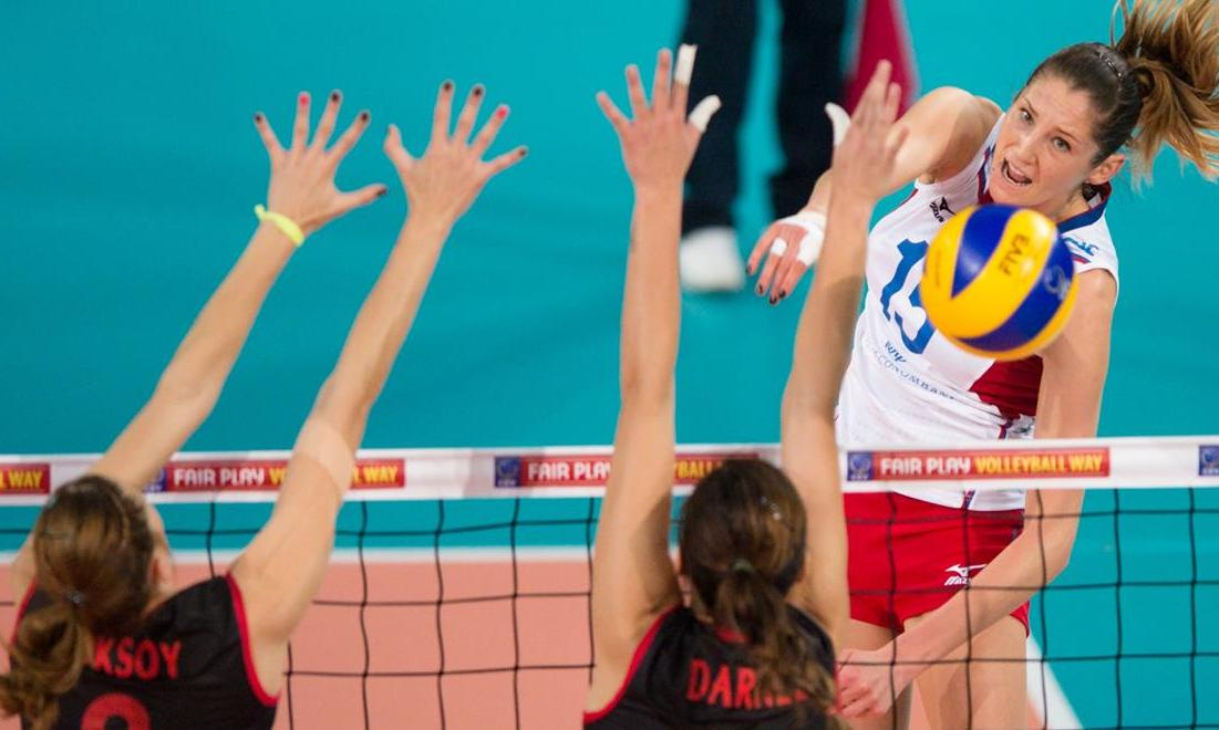 EuroVolley: Russia got a medal out of Turkey's head. Sborna in semis!