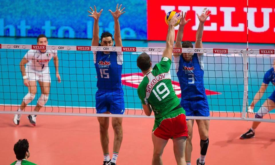 EuroVolley: Tsvetan Sokolov stopped! Italy joined Russia!