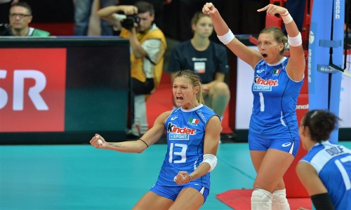 "EuroVolley: ""Azzure"" in quarterfinals!"