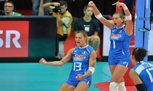 "EuroVolley: ""Azzure"" in quarterfinals!"