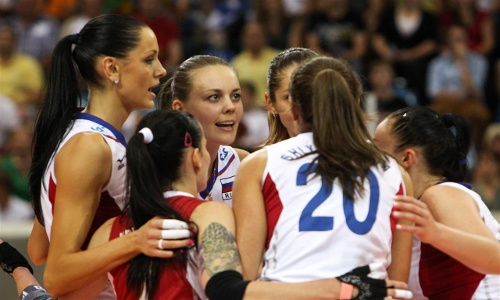 EuroVolley: Russia the best in pool C