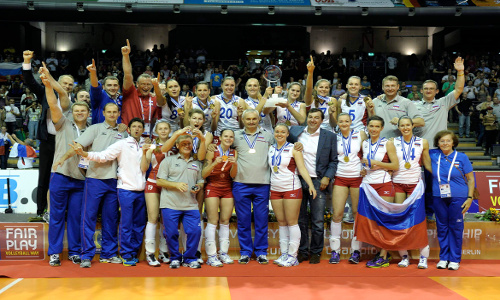 EuroVolley: 18th European Champion's title for Russia!