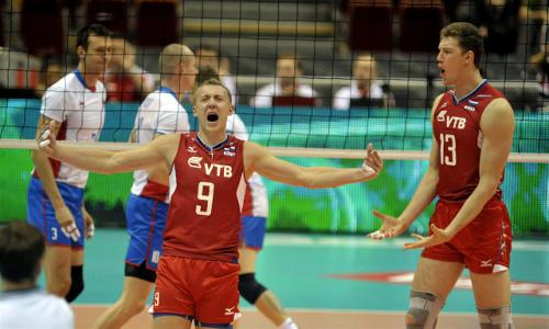"EuroVolley: ""Sborna's"" show, Slovaks lose in cloak room."