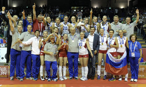 Photos: Eurovolley Women 2013 Final