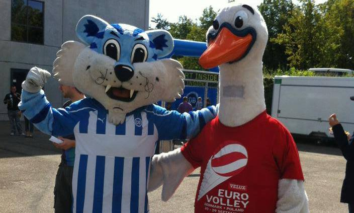 mascots eurovolley
