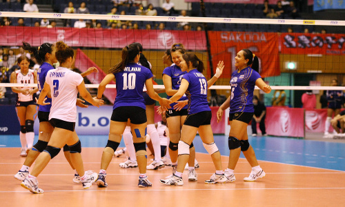 Thailand is new Asian Champion! China without medal!