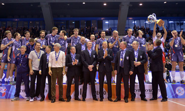 Impressive beginning of the season in Russia. Grbic debuted!