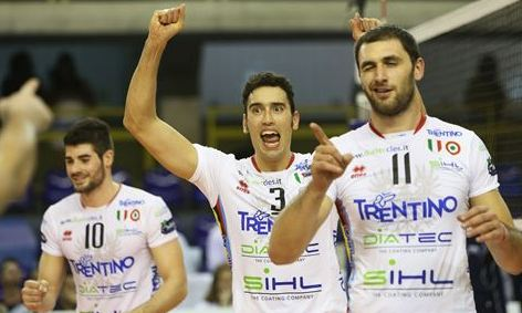 Men's CWCH: Trentino starts the cruise for 5th row title with a victory