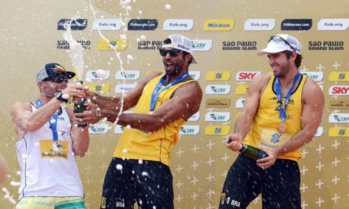 Pedro-Bruno victorious at the Sao Paulo Grand Slam