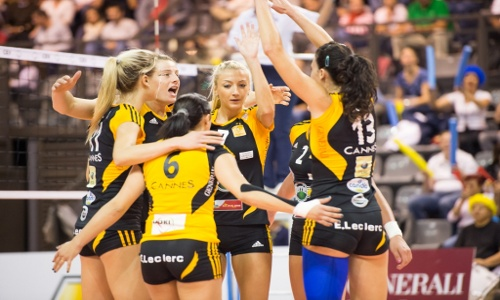 WCL Pool D: Cannes and Eczacibasi give no mercy!