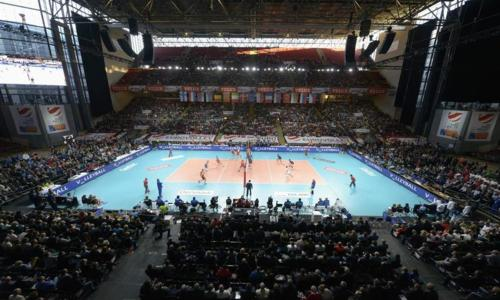 EuroVolley: A Russian king and a deck of aces
