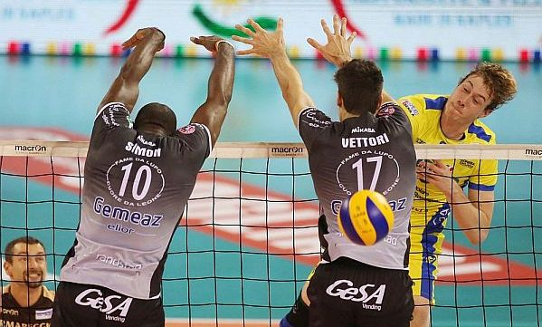 Serie A: A pair S&K gives a win for Copra. Macerata claims 'Serbian' game