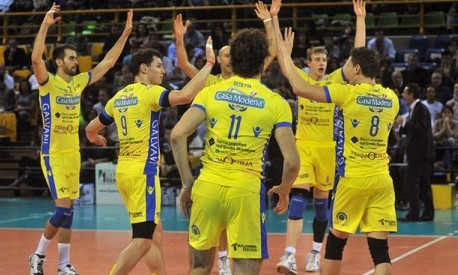 Serie a modena steals a first macerata s loot copra for Casa modena volley