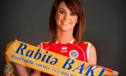 Skowronska leads Rabita against a brave Beziers. Fifth victory in a row for the azeri team