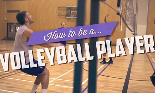 Video: How to be a volleyball player