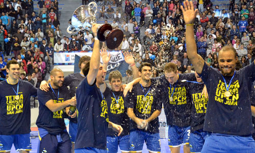 Nobody can stop UPCN, 4-time Champion!