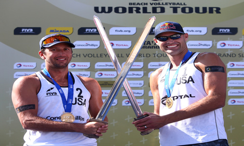 Dalhausser-Rosenthal win the viking swords in Norway