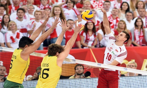 WCH: Poland with amazing Wlazły achieves goal!
