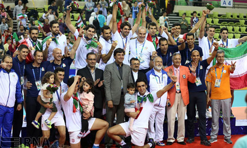 Tribute to Iran: Next goal gold in RIO!