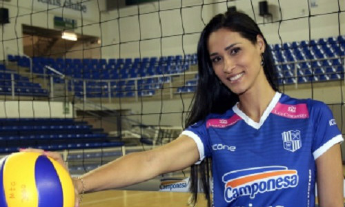 Jaqueline Carvalho signed a contract with Camponesa/Minas