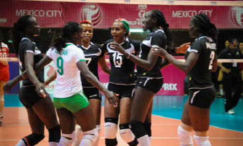 Kenya Women's Volleyball Team Makes History!