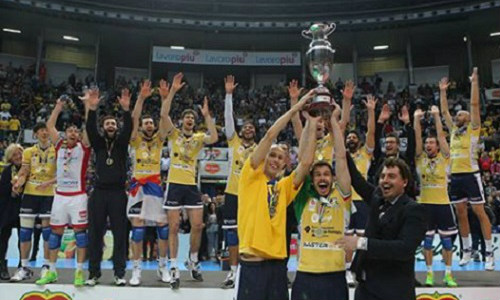 Volley Modena with 11th Coppa Italia