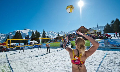 Snow Volleyball Tour 2015 is here!