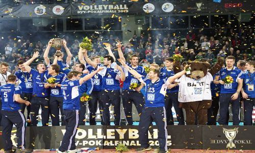 Halle – the lucky place for Friedrichshafen