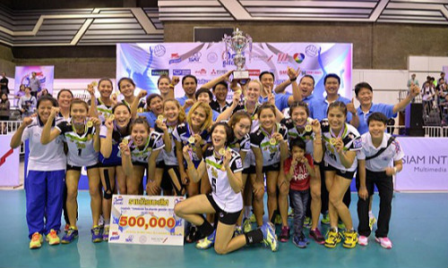 Rabbits claim Thai-Denmark Super League title