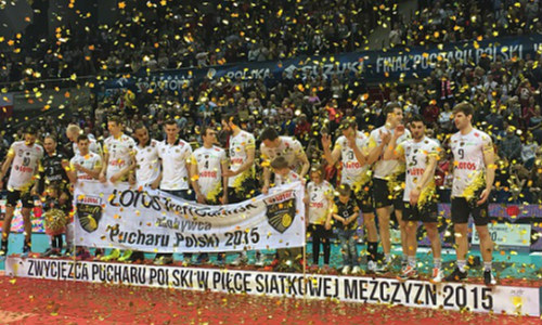 Lotos Trefl Gdansk won the first Cup of Poland in their history!