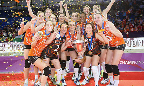 Eczacibasi from the top of Europe to the top of the world
