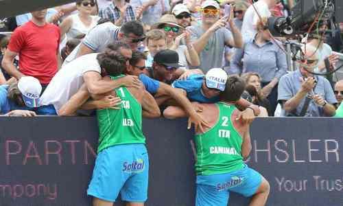 New Italian heroes net Swiss gold