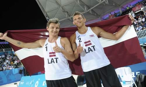 Gold for Latvia at the inaugural European Games