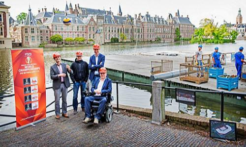 Construction of The Hague Stadium gets underway