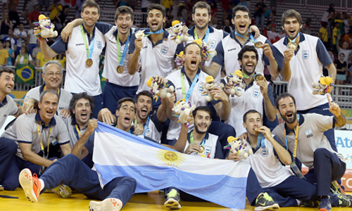 Argentina ran over Brazil and claimed Gold medal in Pan American Games