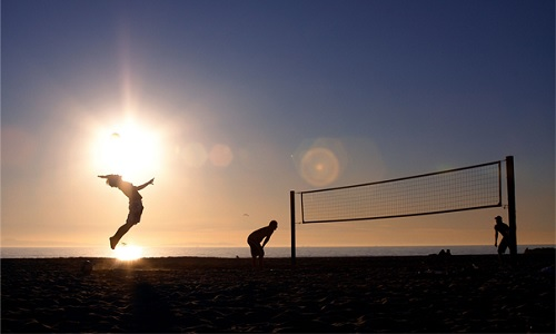 Beach Volley: the future of volleyball?