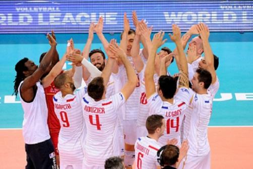 World League Volleyball, week 8…Vive la France!!!