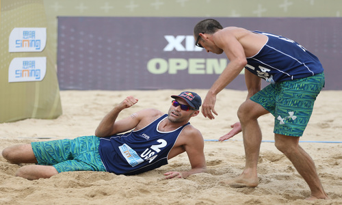 Lucena-Dalhausser in chase of Olympic points