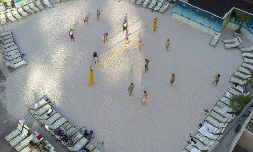 Fascinating and Historic Beach Volleyball Courts Around The World